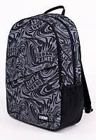 Городской рюкзак для ноутбука UP B8 SPLASH ASPHALT 30л с принтом студента, в школу.