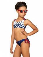 Детский купальник для девочки Пляжная одежда для девочек Одежда для девочек 0-2 Arina Италия GB061403 Синий