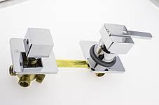 Смеситель для душевой кабины ( Г-5\14 ) на пять положений под гайку, в стойку душевой кабины, фото 3