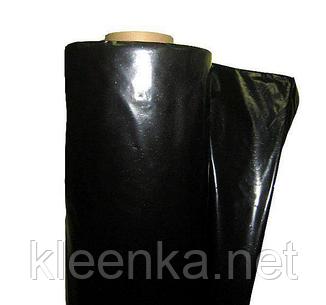 Пленка черная строительная непрозрачная для укладки фундамента, 1,5 м рукав, 3 м ширина, 60 мкм толщина, фото 2