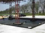 Пленка черная строительная непрозрачная для укладки фундамента, 1,5 м рукав, 3 м ширина, 60 мкм толщина, фото 3