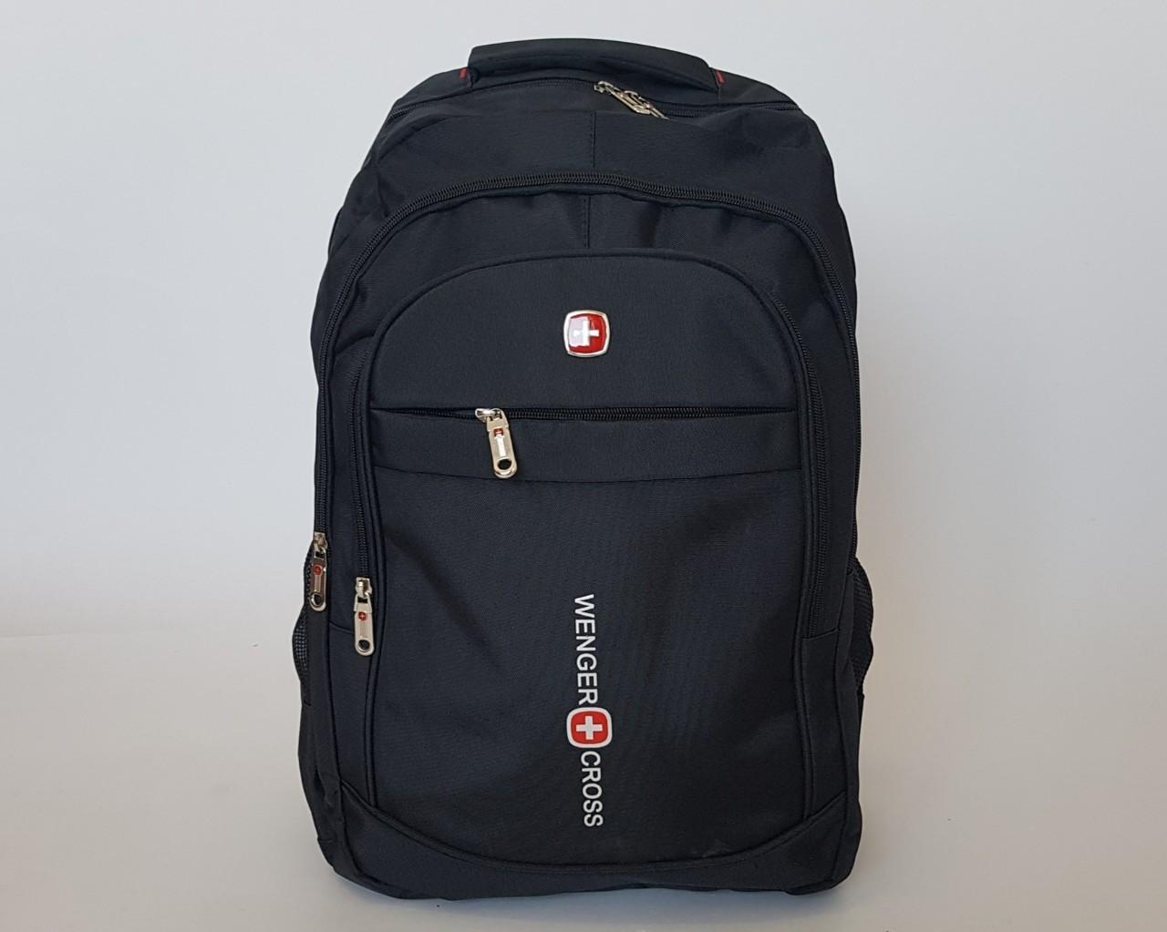Городской рюкзак «WengerCross» черного цвета