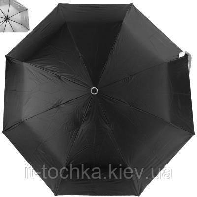 Зонт женский полуавтомат fare (ФАРЕ) fare5529-black-silver