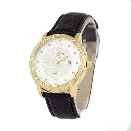 Patek Philippe quartz 8610-1 Black/Gold/White