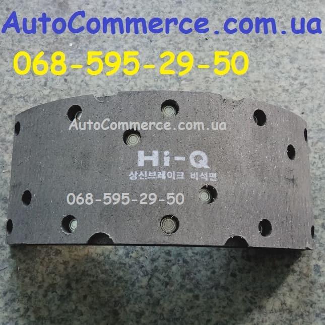 Колодка тормозная передняя, задняя Hyundai HD78, HD65 Хюндай HD (110мм)