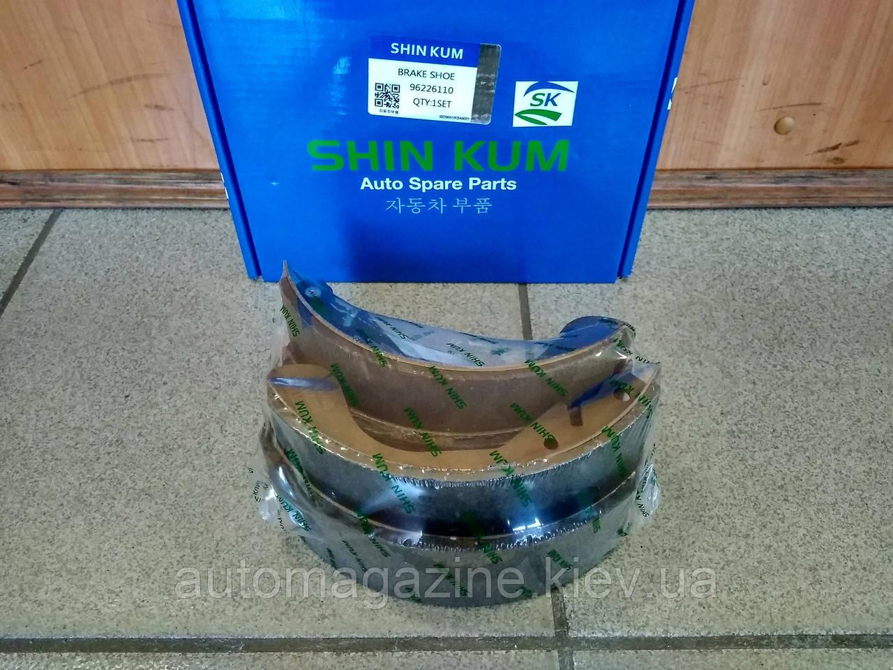 Колодки тормозные задние Daewoo Lanos (Корея)