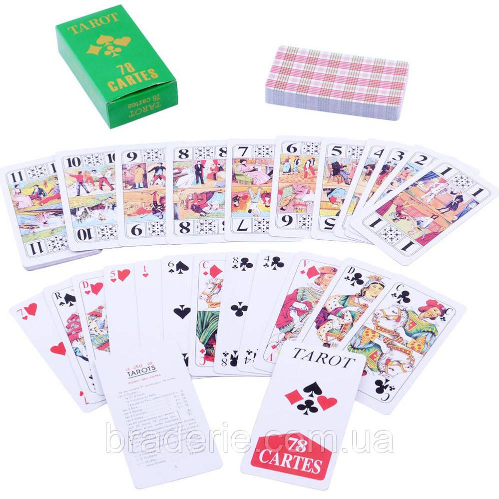 Карты Tarot колода 78 штук