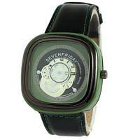 Sevenfriday Leather Green-Black