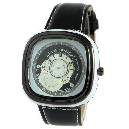 Sevenfriday Leather White-Black