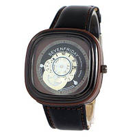 Sevenfriday Leather Brown-Black