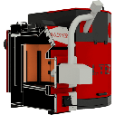 Altep Trio Uni Pellet Plus (КТ-3ЕPG) 80 кВт (горелка+шамот), фото 5