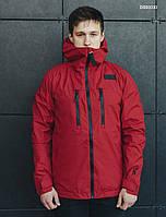 Куртка мужская демисезонная Staff T red с магнитами для наушников