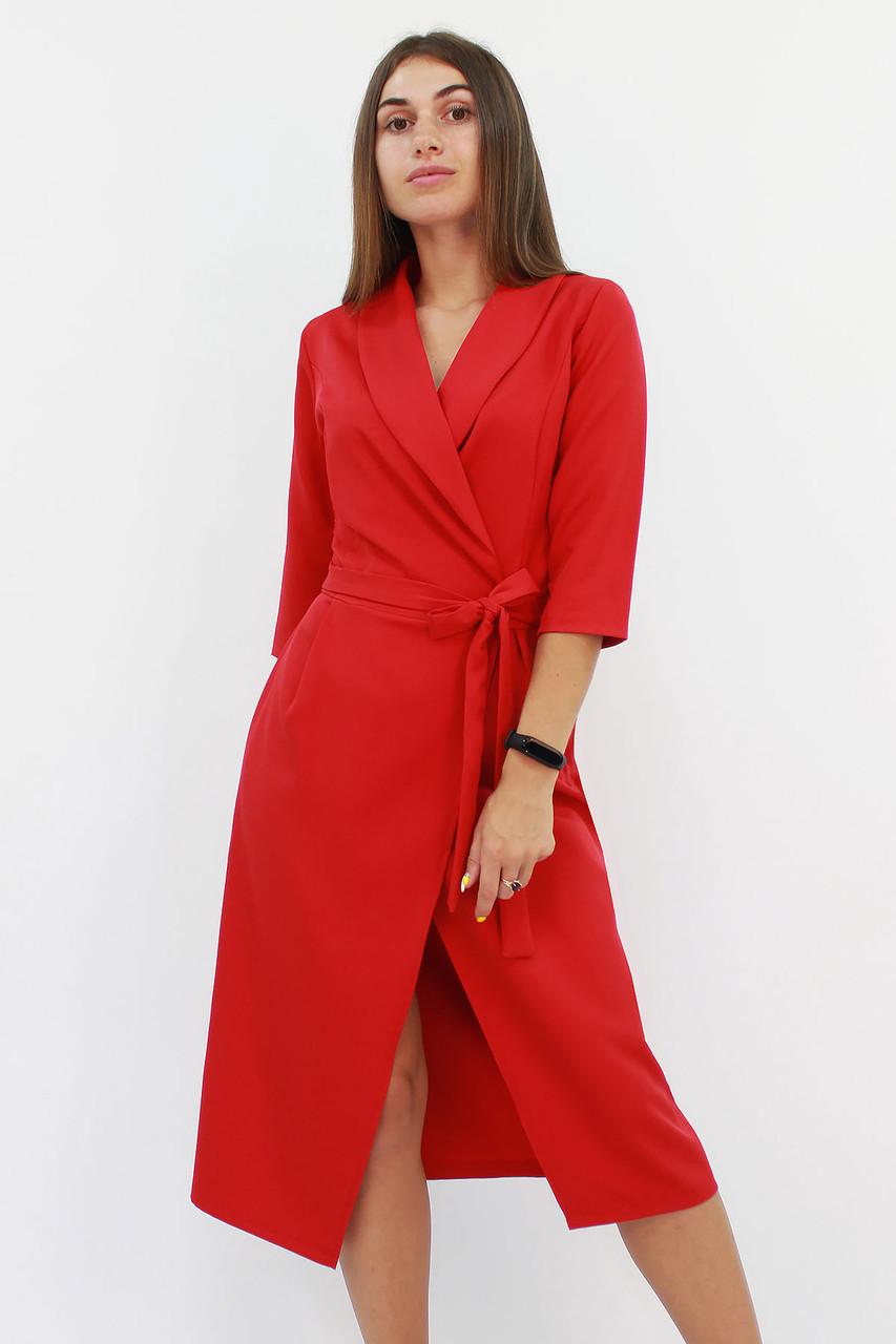 S, M, L / Вишукане вечірнє плаття на запах Barbara, червоний
