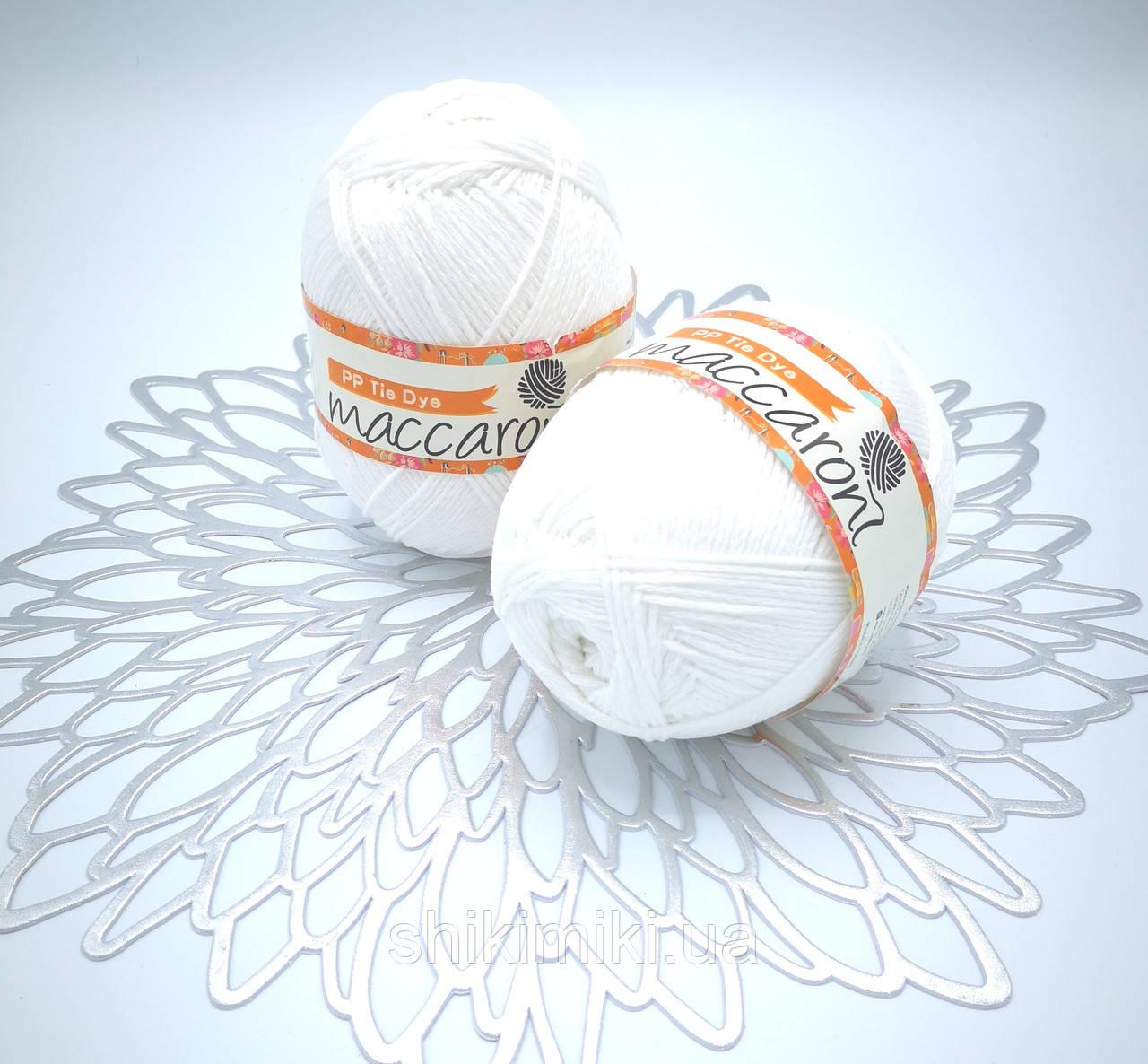 Трикотажный шнур PP Tie Dye, цвет Белый