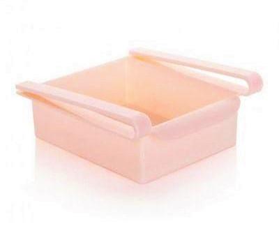 Дополнительный подвесной контейнер для холодильника и дома Refrigerator Multifunctional Storage Box Розовый