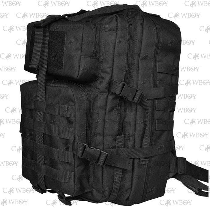 Тактический рюкзак 35-60 литров, черный