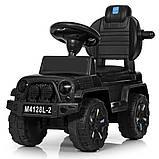 Каталка-толокар 2 в 1 Jeep Wrangler M 4128, фото 4