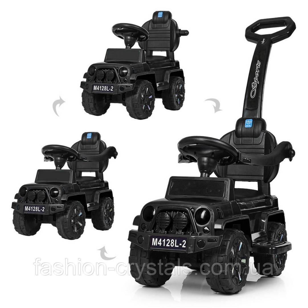 Каталка-толокар 2 в 1 Jeep Wrangler M 4128