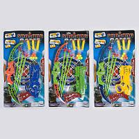 Пистолет игрушечный 3 вида, 159-23