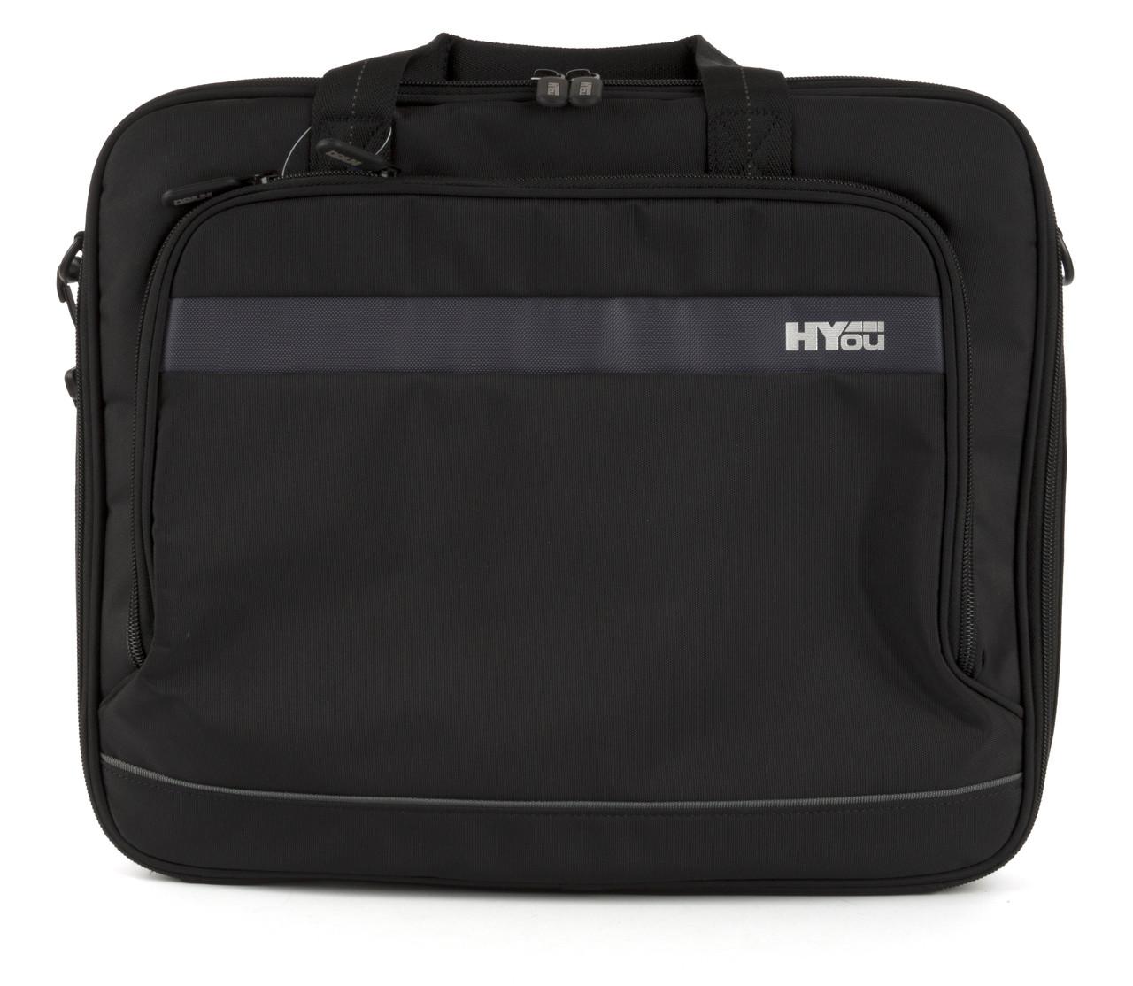 Вместительная мужская прочная сумка для ноутбука высокого качества HUOU art. HUCL04/003