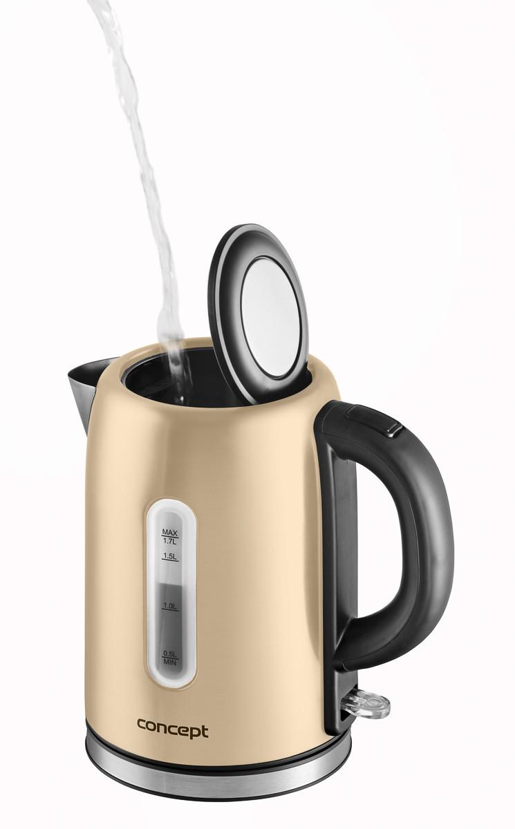 Электрический чайник Concept RK-3222 бежевый Чехия
