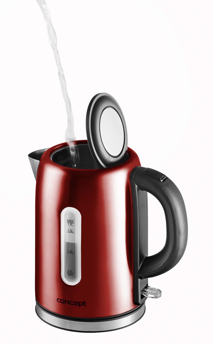 Электрический чайник Concept RK-3224 красный Чехия