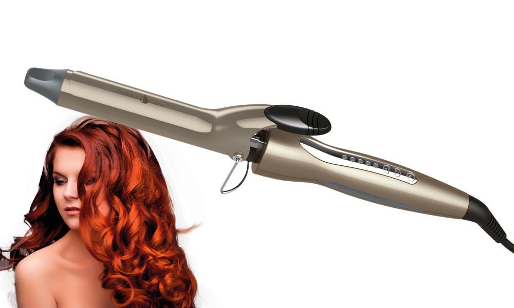 Щипцы для завивки волос 33 мм Concept KK-1150 Golden Care Чехия