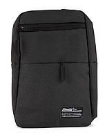 Стильная прочная мужская тканевая сумка-рюкзак art. 115