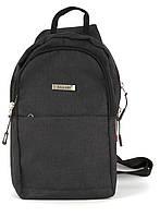 Стильная прочная мужская тканевая сумка-рюкзак Wallaby art. 112
