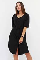 M | Женское повседневное черное платье Elison
