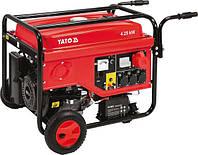 Генератор трехфазный бензиновый 5.5 кВт Yato YT-85460