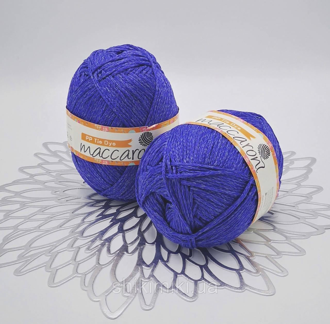 Трикотажный шнур PP Tie Dye, цвет Блуберри