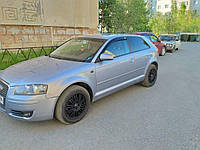 Дефлекторы окон Audi A3 hatchback 3-х дв 8L 1996-2003 VL-Tuning Ветровики ауди а3 8л