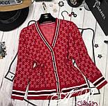 """Женская кофточка в стиле """"Gucci"""" (в расцветках), фото 3"""