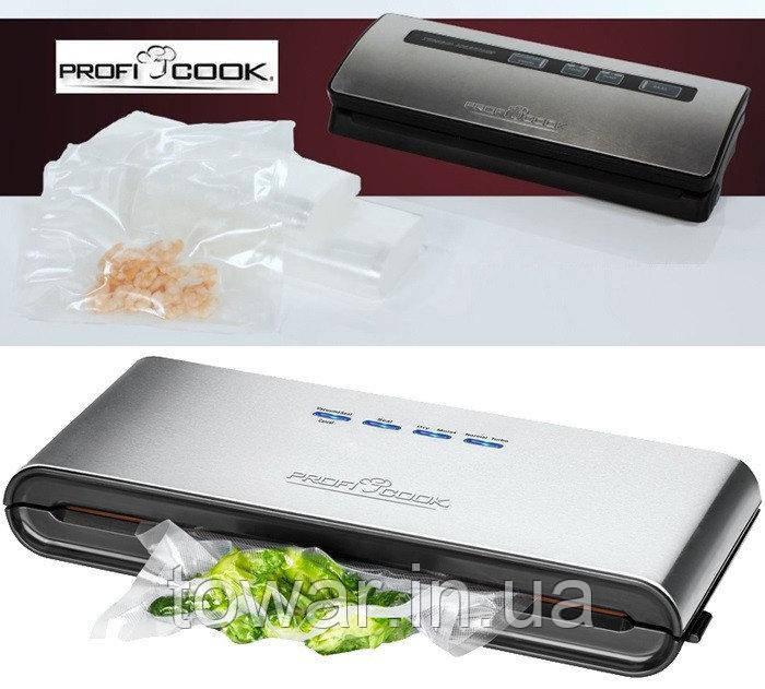Profi cook pc vk 1080 вакуумный упаковщик запчасти на вакуумный упаковщик