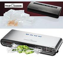Вакуумный упаковщик Profi Cook PC-VK 1080 + 18 ПАКЕТ.