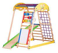 Игровая шведская стенка Kids Play (мольберт и счеты), фото 1