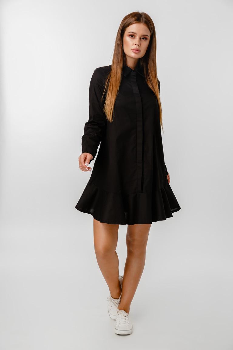 Платье LiLove 1-020 44 черный