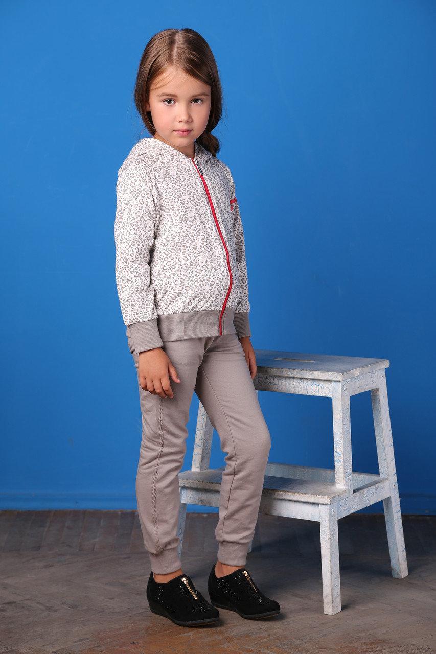Детская толстовка для девочки BRUMS Италия 153BGEP003 Бежевый