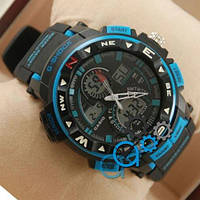 Casio G-Shock Twin Sensor Black-Turquoise