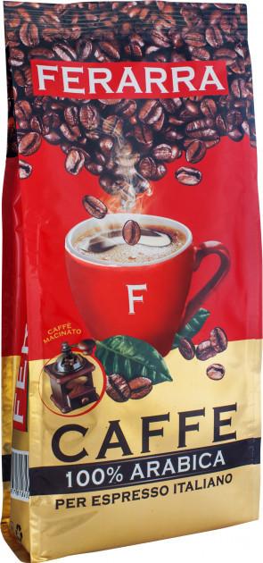 Кава мелена Ferarra Caffe 100% Арабіка 200 г