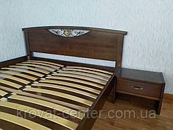 """Двуспальная кровать """"Фантазия"""" (лесной орех), фото 3"""