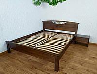 """Двуспальная кровать из массива натурального дерева от производителя """"Фантазия"""" (160х190/200) орех"""