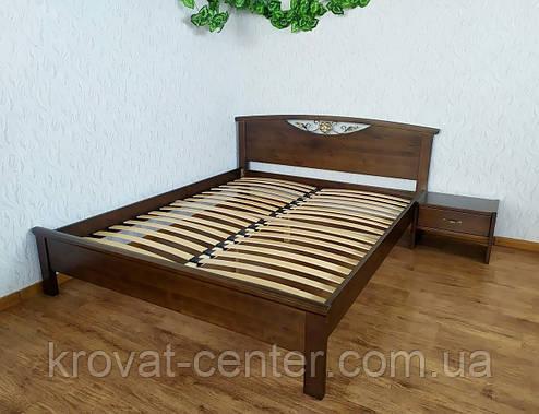 """Двуспальная кровать """"Фантазия"""" (лесной орех), фото 2"""