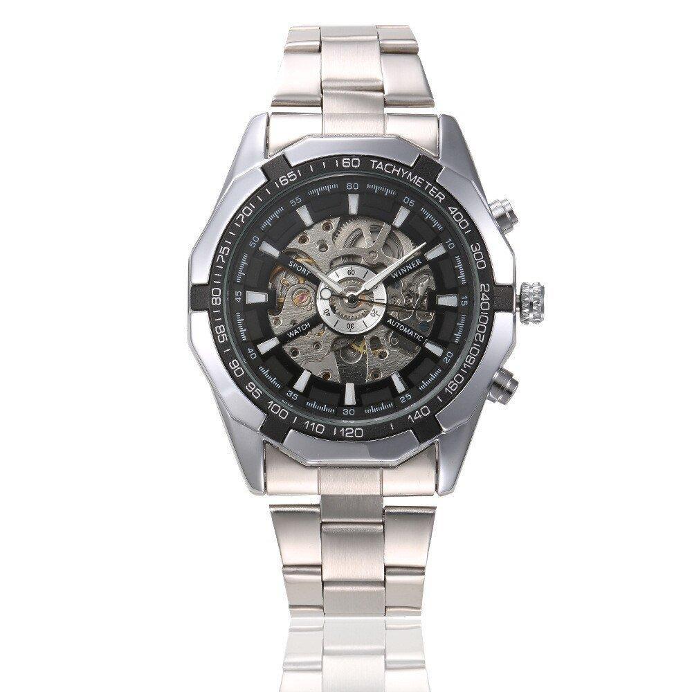 Winner TM340 Silver-Black-Silver