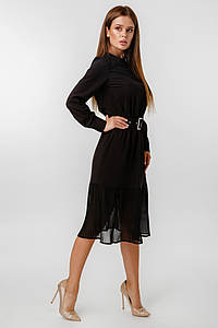 Платье LiLove 1-021 42 черный
