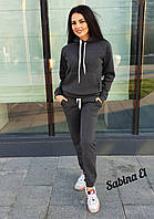 Тёплый спортивный костюм на флисе М-204, фото 1