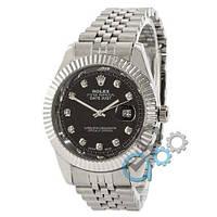 Rolex Date Just Silver-Black