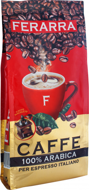 Кофе молотый Ferarra Caffe 100% Arabica 70 г