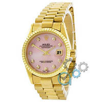 Rolex Date Just Gold-Pink Pearl